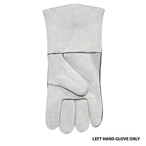 Steiner 02209LH Economy Shoulder Split Cowhide Stick Welding Gloves, L (Welding Economy Gloves)