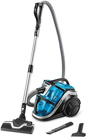 Rowenta ro8311ea - Aspirador sin bolsa (68 dB, 750 W, silencioso, fuerza multiciclonic), color azul y negro: Amazon.es: Hogar