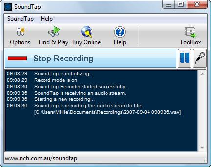 SoundTap Streaming Audio Recorder - Record Audio