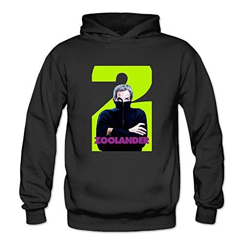 Zoolander 2 Women's Long Sleeve Long Sleeve Black US Size -