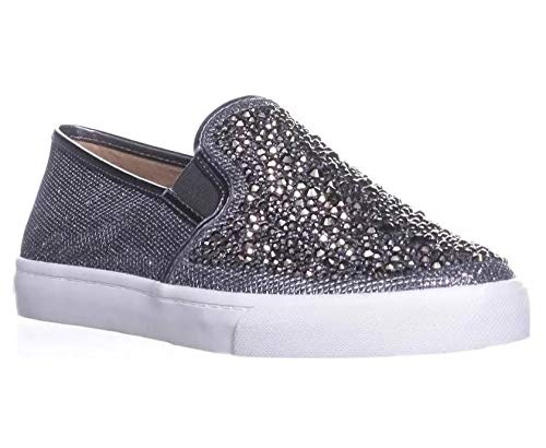 INC International Concepts Sammee Slip-On Sneakers Pewter 5M, Pewter, Size 5.0 from INC International Concepts