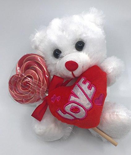 Bear Lollipop - Father's Day Teddy Bear Holding A Sweet Lollipop Treat 9