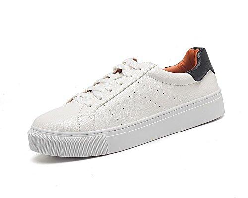 Mme Spring chaussures dascenseur chaussures casual chaussures en dentelle chaussures plates rondes , US5.5 / EU35 / UK3.5 / CN35