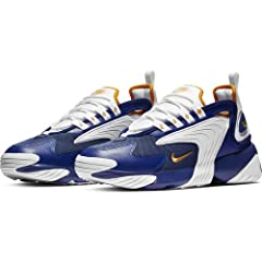 Inspired by the look of the late '90s, specifically the shoes featured in the Nike Alpha Project, the Nike Zoom 2K combines heritage style and the modern comfort of Zoom Air cushioning. The upper's mixed materials are highlighted by rubber wi...