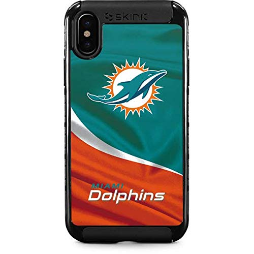 low priced a401a 2c0fb Amazon.com: Miami Dolphins iPhone Xs Max Case - NFL | Skinit Cargo ...