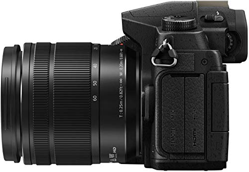 Panasonic Lumix G85 4K Mirrorless Digital Camera with G Vario 12-60mm Power O.I.S. Lens 16 Megapixel G85MK Bundle with 64GB Card, Blower,LI-ON Battery & More | DMC-G85MK | Panasonic Lumix G85 | g85
