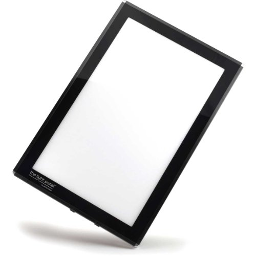 Porta-Trace LED Light Panel, Black Frame, 11-by-18-Inch