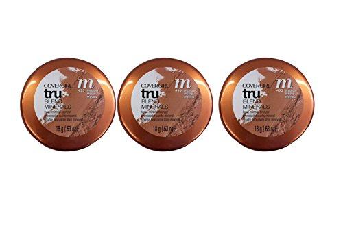 lot-of-3-cover-girl-04889-435golsun-golden-sunrise-trublend-natural-minterals-bronzer