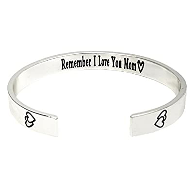O.RIYA Remember I Love You Mom Mother's Day Gift / Gifts For Mom From Daughter Forever and Always