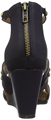 Sandal Watermark Aerosoles Women's Blue Wedge Dark qctnZxCYpw