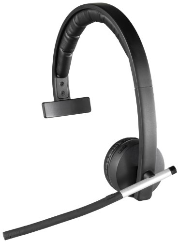 - Logitech Wireless Headset H820e Single-Ear Mono Business Headset