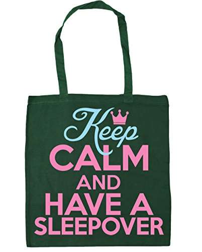 a Bottle Gym 10 Green Bag and HippoWarehouse Keep litres Shopping 42cm Tote x38cm calm have sleepover Beach wHZ1gIq8