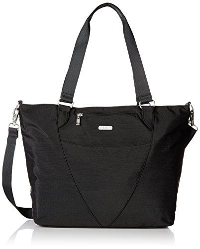 Baggallini Avenue Travel Tote, Black, One Size by Baggallini