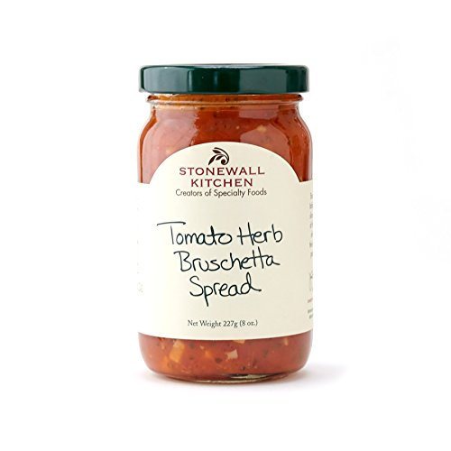 (Stonewall Kitchen Bruschetta Spread, Tomato Herb, 8 Ounce)