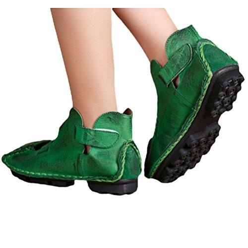 Voguees - Bailarinas para mujer Verde - verde