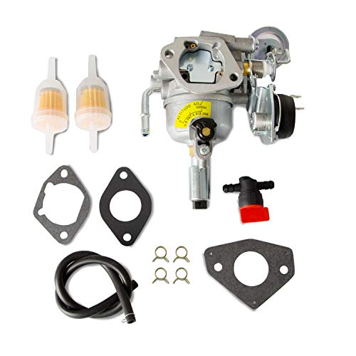Carburetor for Onan 5500 Generator Grand Marquis Gold Generator HGJAA, HGJAB, HGJAC, HGJA with Mounting Gaskets Fuel Filter Cleaner Tool Kit replace number 5410765 146-0774 141-0983 (Model A)