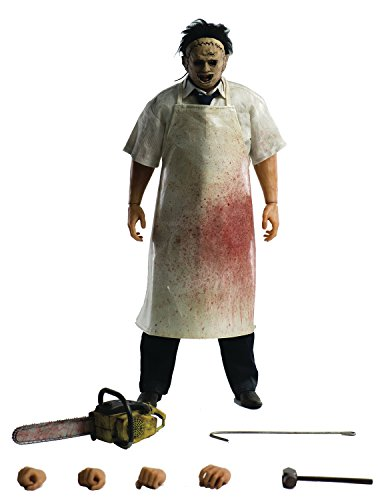 ThreeZero The Texas Chain Saw Massacre: Leather Face 1: 6 Scale Action Figure]()