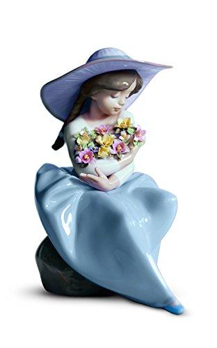 Lladro Fragrant Bouquet Porcelain Figurine