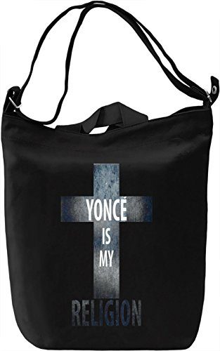 Yonce Is My Religion Borsa Giornaliera Canvas Canvas Day Bag| 100% Premium Cotton Canvas| DTG Printing|