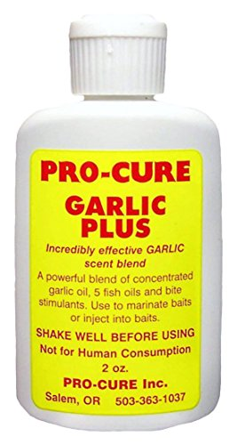 Pro Cure Garlic Plus Bait Oil, 2 Ounce by Pro Cure