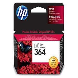 Hewlett-Packard (HP) Original 364 Photo Black Ink Cartridge Standard Capacity 3ml