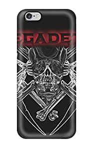 GWPEhlS2084zGxRE Tpu Phone Case With Fashionable Look For Iphone 6 Plus - Megadeth