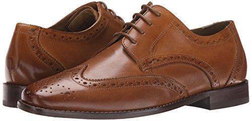 Florsheim Men's Montinaro Wingtip Dress Shoe Lace Up Oxford, Saddle Tan, 11.5 Medium
