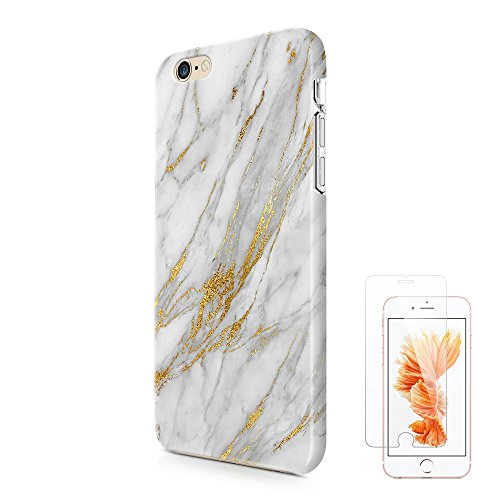 Glitter Marble iPhone Tempered Protector