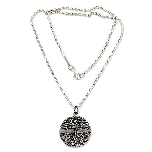 NOVICA .925 Sterling Silver Handmade Necklace, 20.75