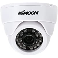 "KKmoon HD 1200TVL Surveillance Camera Security CCTV Indoor Night Vision 1/3"" CMOS IR-CUT NTSC System"