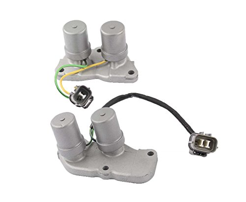 (XtremeAmazing Shift Control & Lock Up Solenoids For Honda Accord Prelude AT Transmission)