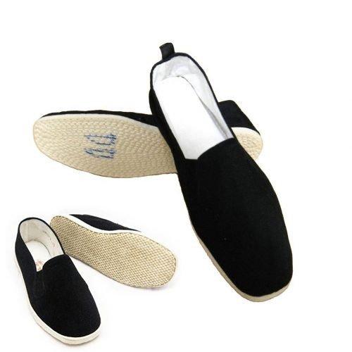 Men's Martial Art Kung Fu Tai Chi Cotton Sole Canvas Shoes