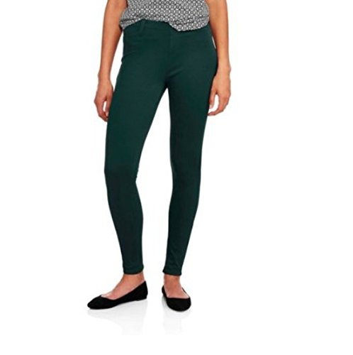 aadd54e05fe Image Unavailable. Image not available for. Color  Faded Glory Women s Full Length  Knit Color Jegging ...