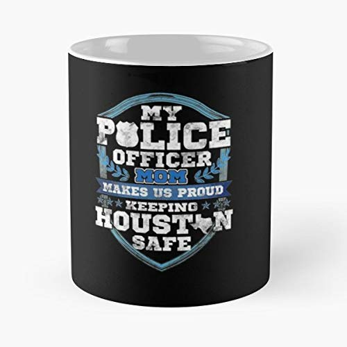 Houston Police Best Friend Officer Gift Coffee/tea Ceramic Mug 11 Oz