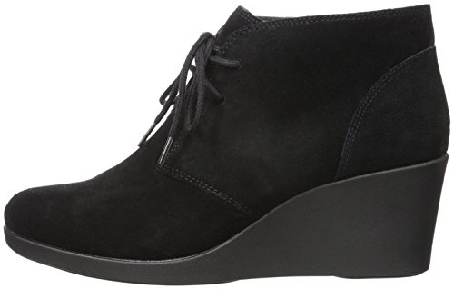 Black Wedge Shootie Suede Crocs Leigh wUnpxUI
