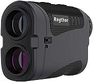 Raythor Pro GEN S2 Laser Rangefinder for Golf & Hunting Range Finder with Physical Slope Switch, High-Prec