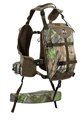 Knight & Hale KHT0068 Run N' Gun 300-Mossy Oak Turkey Vest, Mossy Oak Obsession by Knight & Hale (Image #3)