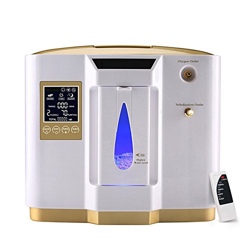 Zorvo Portable Oxygen Concentrator Generators Household Oxygen Machine Home Oxygen Concentrator Generator Air Purifier Home Air Purifier 1-6L/min Flow AC 110V by Zorvo (Image #7)