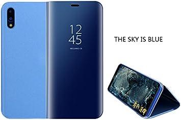 Funda para Huawei P20 Pro Cover Espejo Flip Case Vista ...