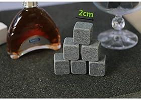 9 piezas/Lote Whisky piedras Rock cubitos de hielo esteatita ...