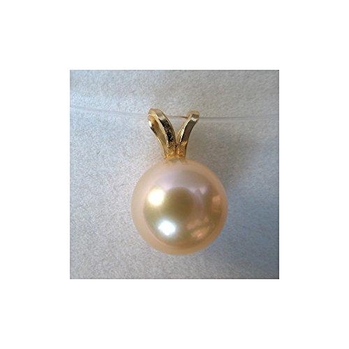Pendentif Lova B perle de culture blanche. Or 750