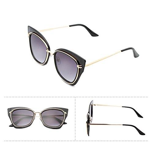 sol X486 las de gafas de de las ULTRAVIOLETA Color redondas amp;Gafas LYM protección de gafas de moda la coreanas de amp; 1 de Gafas protecciónn sol mujeres la de 5 sol wpcTZqg