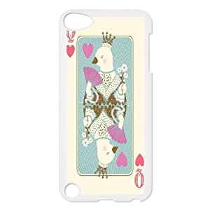 LASHAP Phone Case Of playing card paper king and queen,Hard Case !Slim and Light weight and won't fade, Scratch proof and Water proof.Compatible with All Carriers Allows access to all buttons and ports. for iPod Touch 5