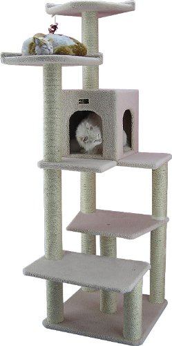 Armarkat-Cat-tree-Furniture-Condo-Height-60-Inch-to-70-Inch