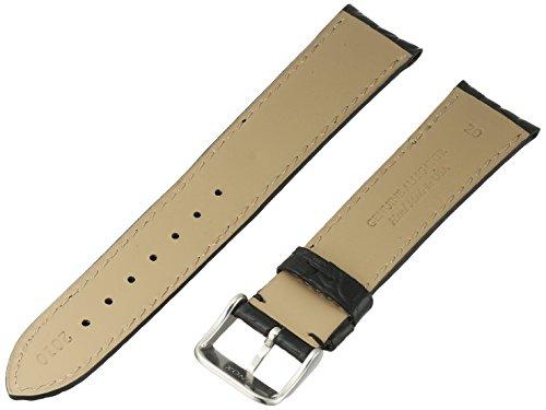 Hadley-Roma-Mens-MS2010RA-200-20-mm-Black-Genuine-Alligator-Leather-Watch-Strap