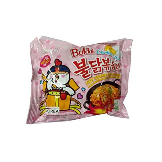 Samyang Hot Chicken Buldak Carbonara Noodles, 130gm