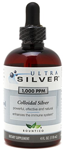 Ultra Silver Colloidal Silver 1000 PPM - 4 Oz
