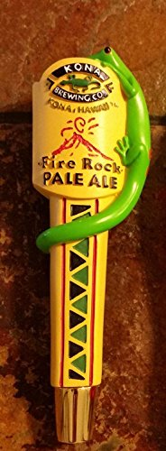 Kona Brewing Co. Fire Rock Pale Ale Shot Gun Style Signature Tap Handle Beer Keg Marker