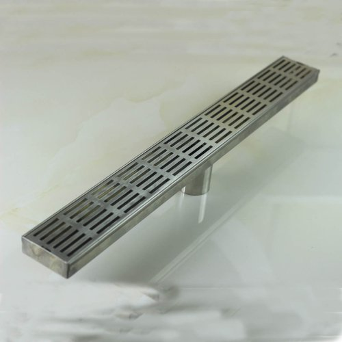 linear nickel bathroom kitchen shower square design floor drain stainless steel shower drain bath shower improvement