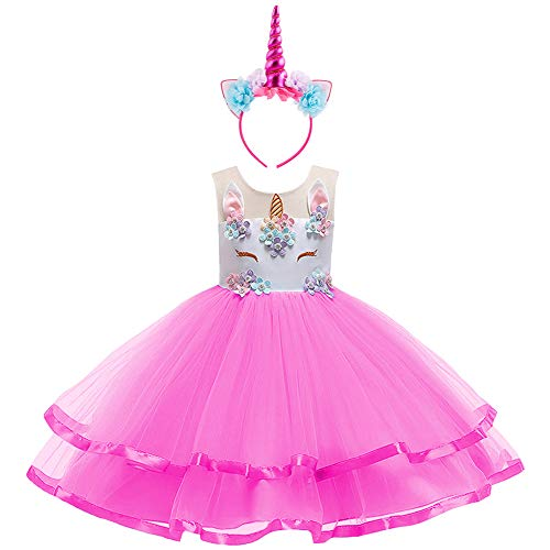 - Toddler/Girls Tutu Ballet Swan Princess Dress Up Costume Fancy Cosplay Tutu Skirt New Clothes Set S# White+Rose(2pcs) 11-12 Years